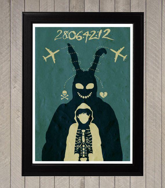 Hey, j'ai trouvé ce super article sur Etsy, chez https://www.etsy.com/fr/listing/161853822/donnie-darko-minimaliste-poster-affiche