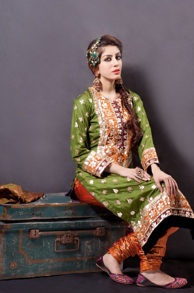 Desing by Mohsin Naveed Ranjha- love the combination