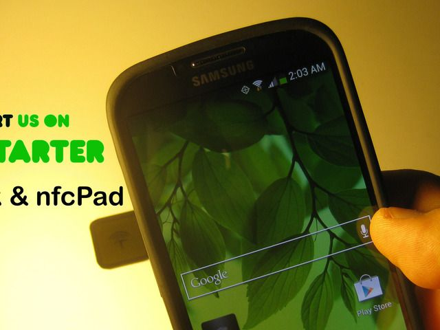 nfcTack 2.0 - Simplify Smartphone with Nano Suction NFC Tag by Robert Han — Kickstarter.  Automate Android smartphone actions with one tap on nfcTack, a sleek nano suction NFC tag. Removable, customizable, and reusable!