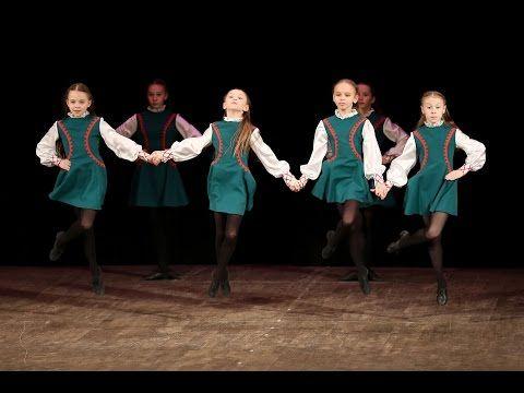 "Ирландский танец, ""Прогулка по камням"" - YouTube"
