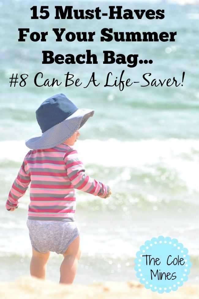15 must haves for your beach bag