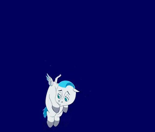 So adorable. :') Pegasus :(  #hercules #disney #gif