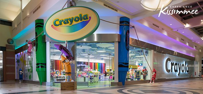Top 5 Things to do at the new Crayola Experience at Florida Mall - Things To Do - Experience Kissimmee - Orlando Florida Area - Fun Family Events - Kissimmee