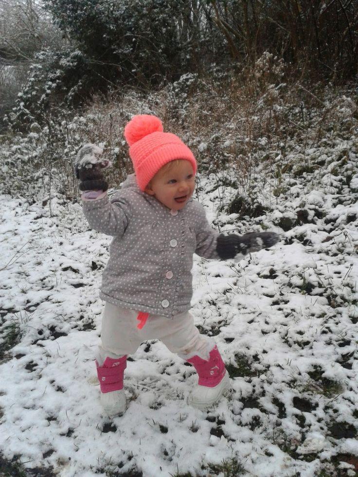 Bruno-Zosia: Mamy snieg!