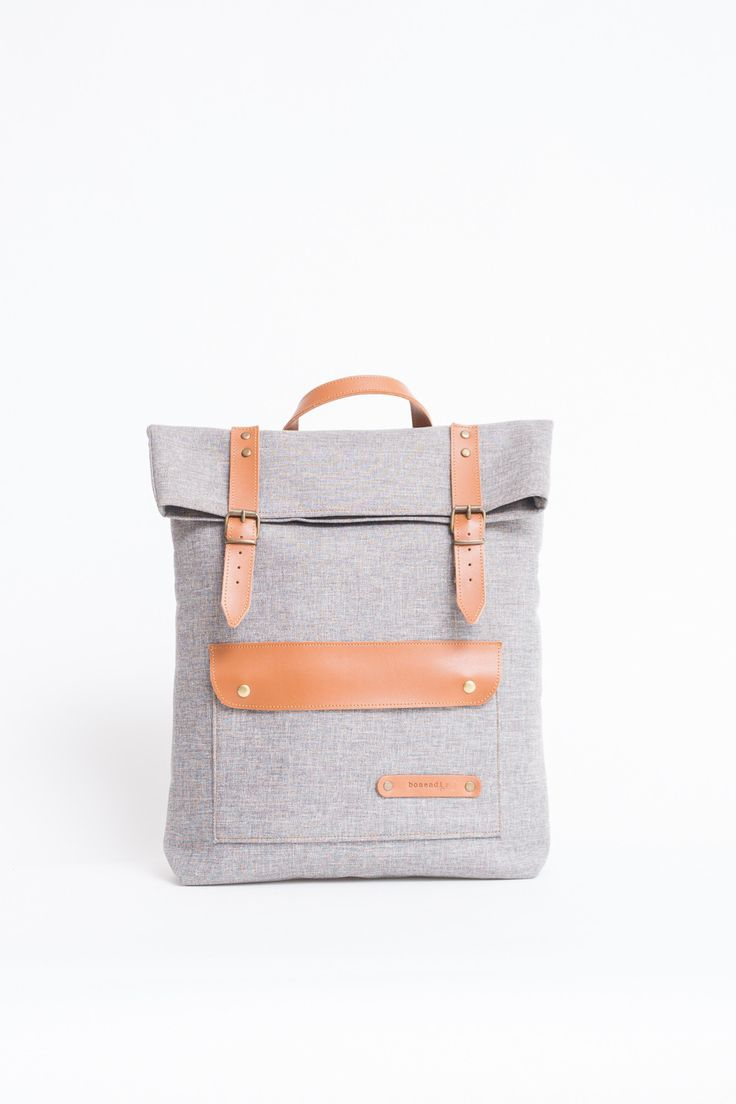 BOSTON BACKPACK LIGHT GREY from Ozon Boutique