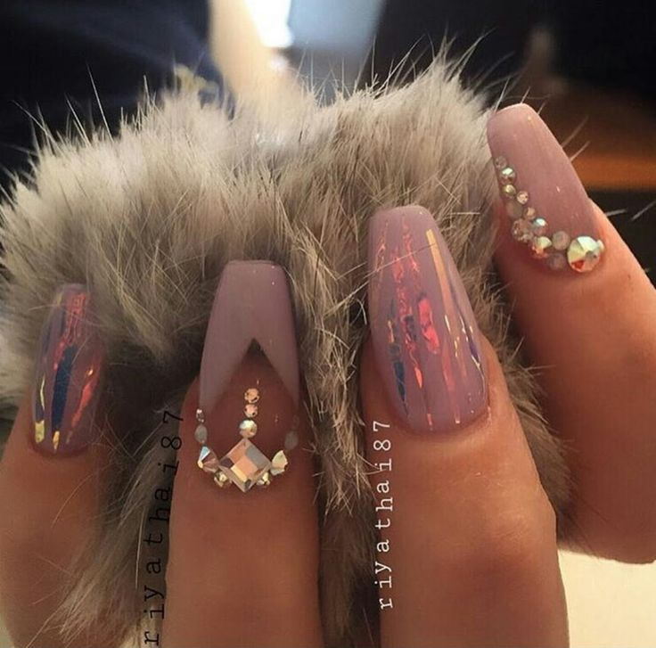 61 acrylic nails designs for summer 2019 style easily - 736×727