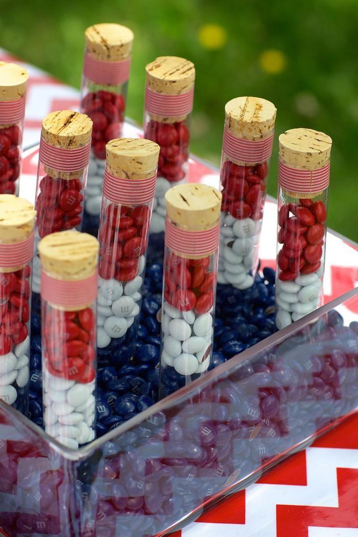 4th of July Party via Kara's Party Ideas #outdoor #patriotic #July #4th (21)