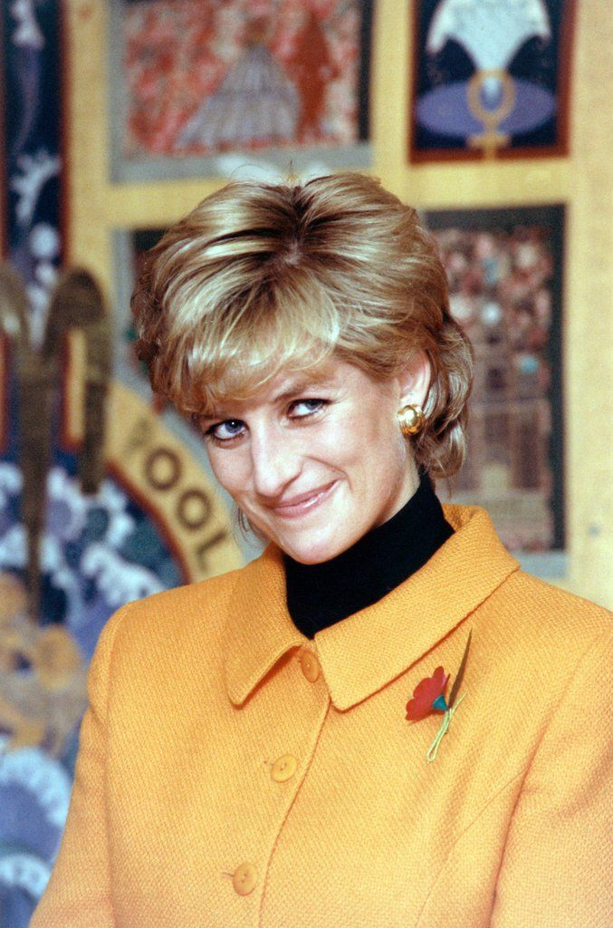 Detail of Princess Diana 1995 by Liverpool Echo