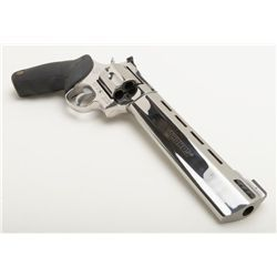 """Taurus Raging Bull Model DA revolver, .454 Casull cal., 8-1/4"""" barrel, nickel finish, stippled finge"""