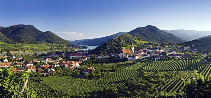 The beautiful town of Spitz in the Wachau Valley © Österreich Werbung, Rainer Mirau