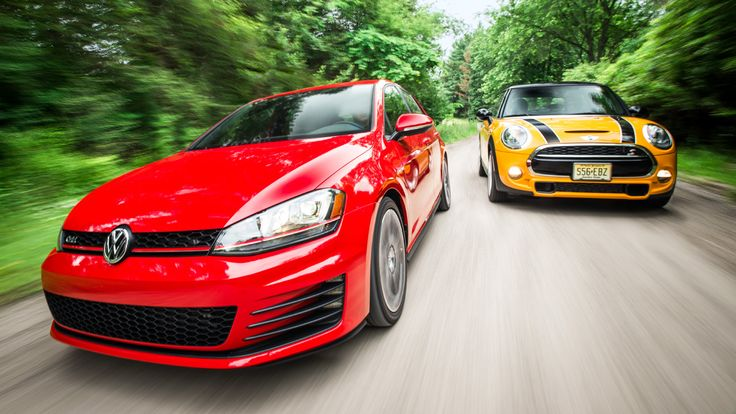 2 Go Boxes: 2015 Volkswagen GTI vs 2015 Mini Cooper S Comparison Test