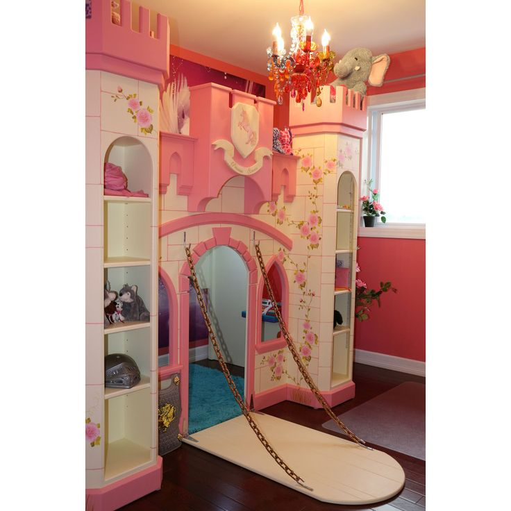 """Extraordinary would be an understatement when describing this castle bunk bed. Dimensions 100"""" Wide x 54"""" Deep (not including drawbridge) 76"""" High"""