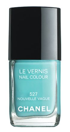 Chanel Nouvelle Vague Polish: PERFECT spring polish. Somehow looks great with everything. Have, can lend. :)