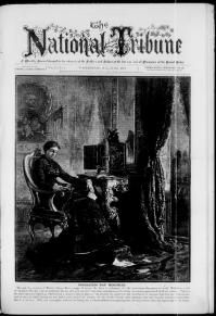 "The National Tribune Newspaper Cover - (Washington, D.C.)  June 1st, 1879. Captioned: ""Decoration Day Memories"". ~ {cwl} ~ (Image: LOC - Chronicling America)"