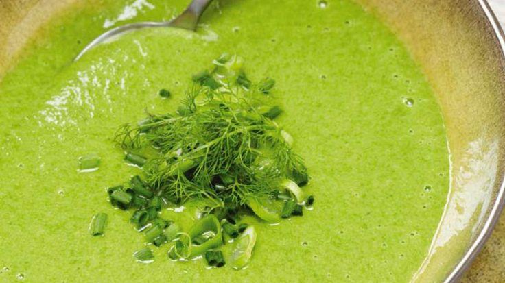 Koude soep van avocado en spinazie - Vtm Koken - Pascal Naessens !