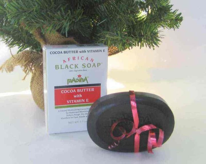 African Black Soap: Cocoa Butter with Vitamin ECocoa Butter, African Black Soaps, Vitamins E, Quality Soaps