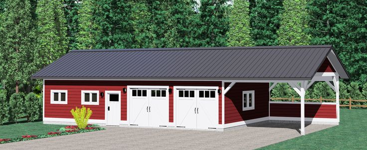 17 best images about studio dreams on pinterest 3 car for Prefab carriage house kits