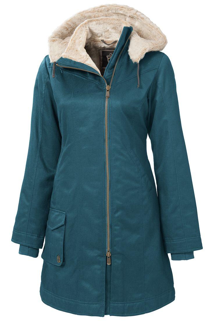 Ladies' Long Hoodlamb Coat (LLHC)