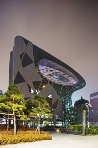 Asia, Republic of Korea, South Korea, Seoul, City Hall BuildingBy