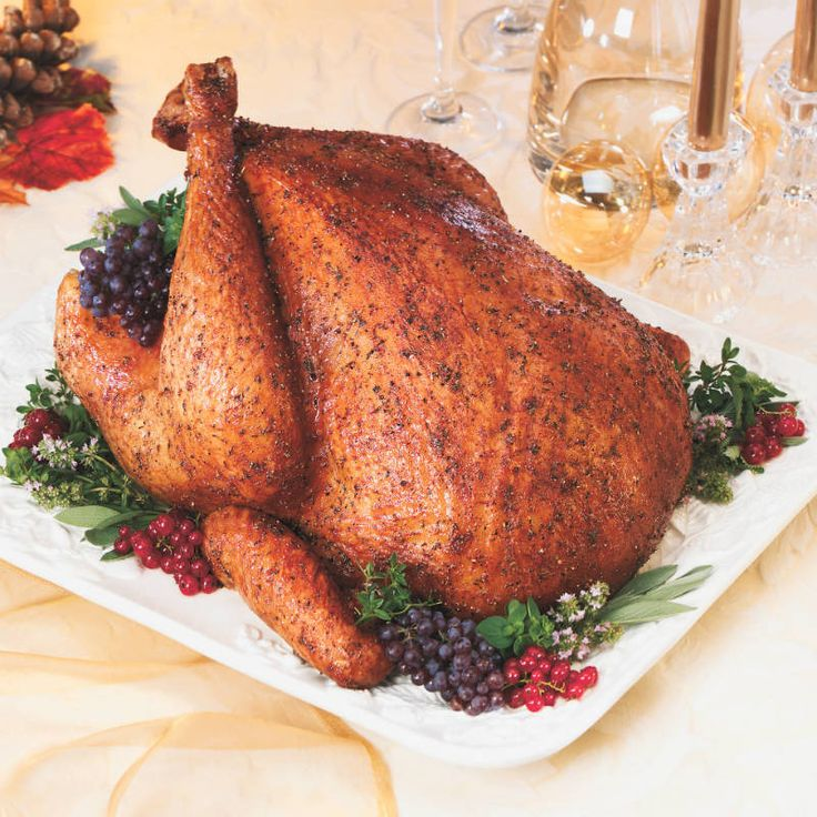 Sage Rubbed Roasted Turkey | Recipe | Butter, The birds ...
