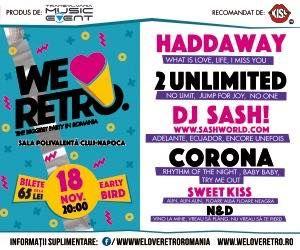 """CONCURS clujescu.ro. Nu rataţi şansa de a câştiga bilete la """"We Love Retro""""!"""