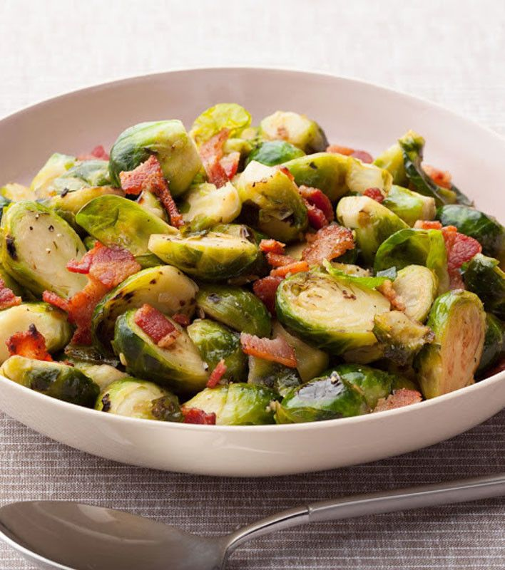 Brussels Sprouts with Bacon