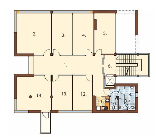 Plano de edificio de oficinas de 4 pisos hola pinterest for Planos de oficinas administrativas