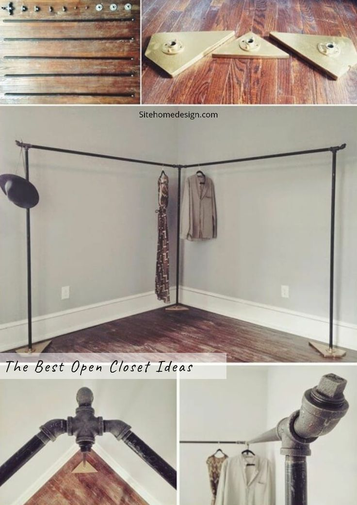 10 Gorgeous Open Closet Ideas For Innovative Home Openclosetideas Openclosetwardrobe Openclosetcon Diy Clothes Rack No Closet Solutions Clothing Rack Bedroom
