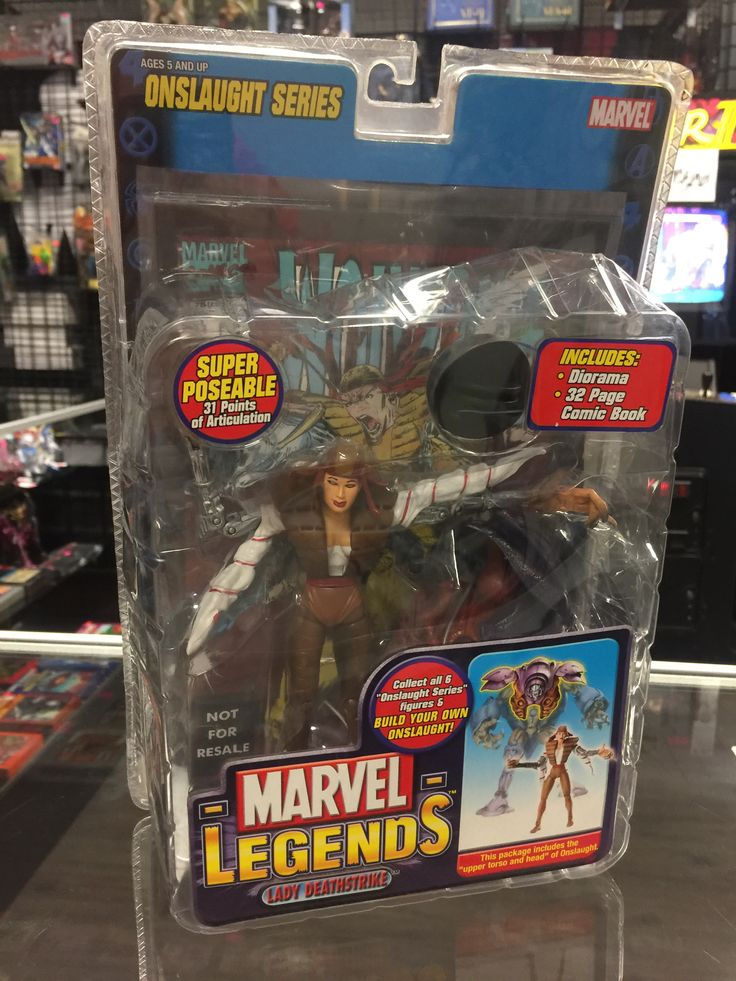 Marvel Legends Lady Deathstrike Toybiz Onslaught Series