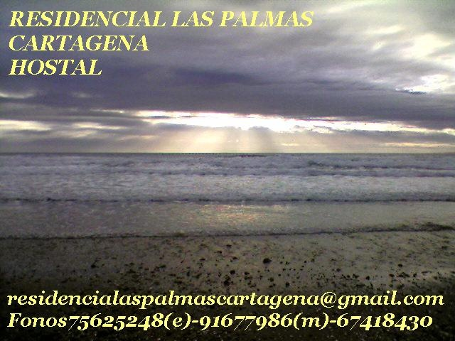 Romántico Invierno en la playa de Cartagena