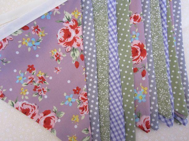 bespoke wedding bunting. www.buntingboutique.co.uk