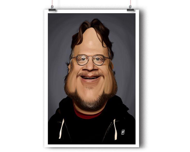 Guillermo Del Toro | Shop art | decor | wall art | inspiration | caricature | home decor | idea | humor | gifts