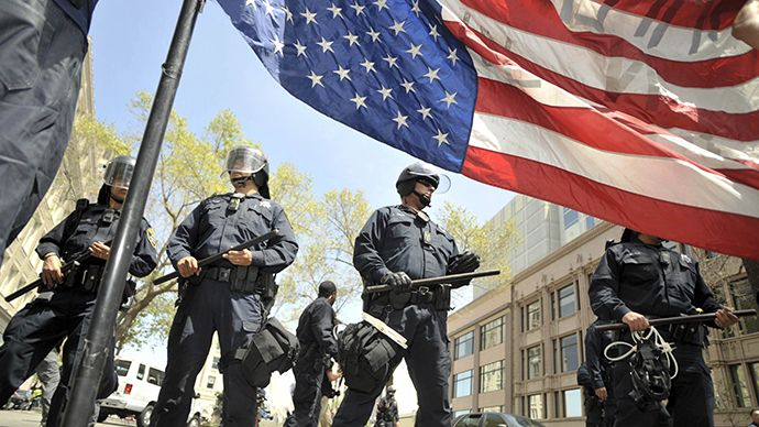 500 innocent Americans are murdered by police every year (USDOJ). 5,000 since 9/11, equal to the number of US soldiers lost in Iraq. In 1994 the US Government passed a law authorizing the Pentagon to donate surplus Cold War era military equipment to local police departments. In the 20 years since, weaponry designed for use on a foreign battlefield, has been handed over for use on American streets…against American citizens.