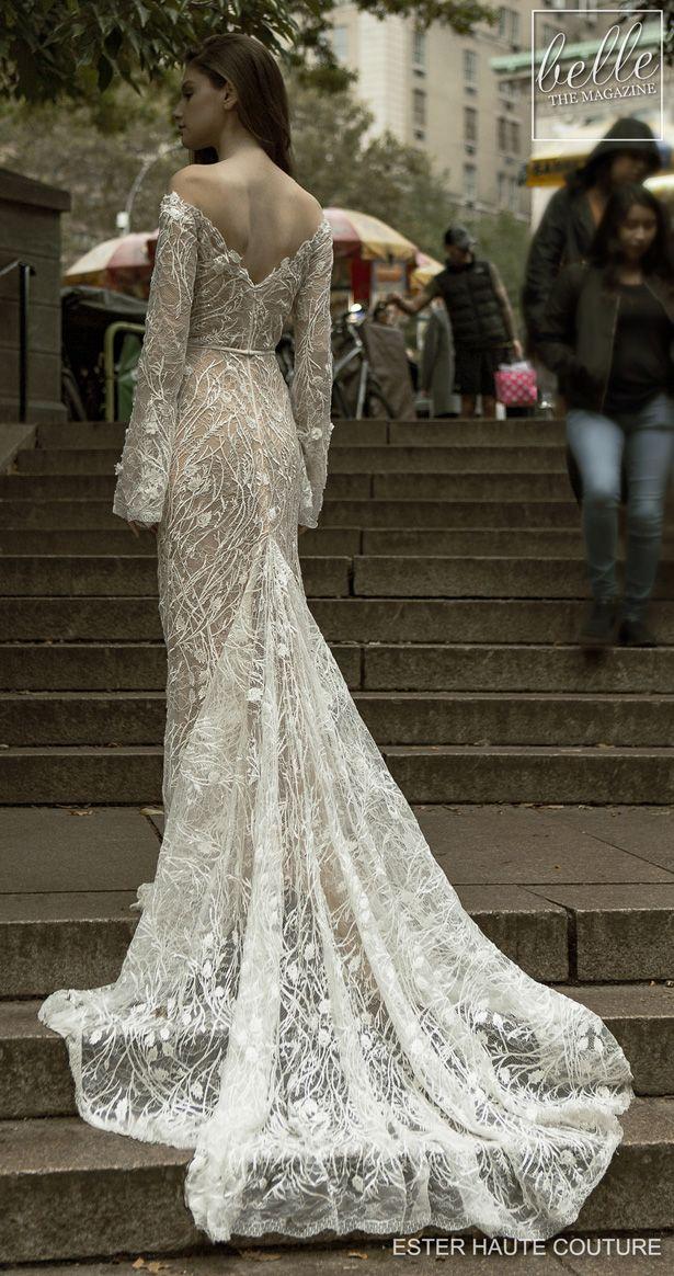 Ester Haute Couture Wedding Dresses 2019 Belle The Magazine Wedding Dress Couture Haute Couture Wedding Dress Wedding Gowns Mermaid Lace