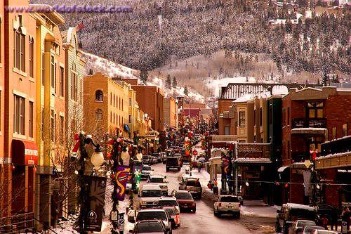 Main Street in Park City Utah