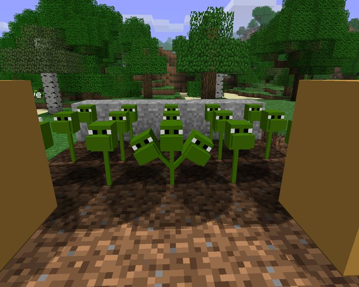 minecraft mods | Images - Plants vs zombies Mod for Minecraft - Mod DB