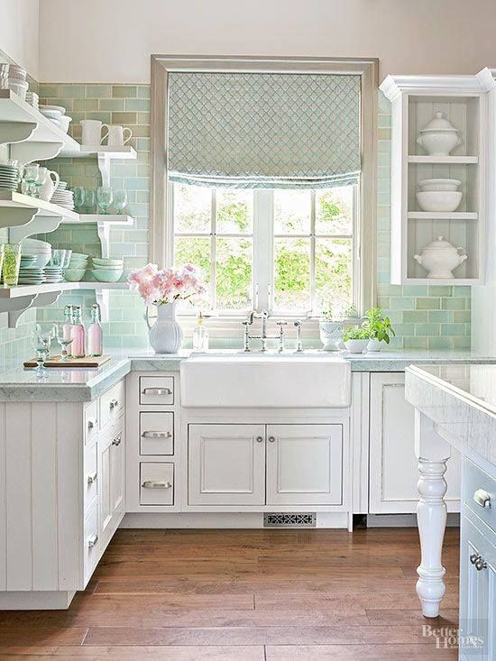 25 best ideas about shabby chic white on pinterest - Cocina shabby chic ...