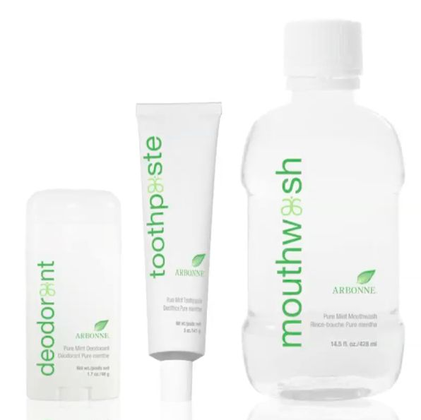Coming this summer from Arbonne! Toothpaste, mouthwash and deodorant. Great for the whole family!