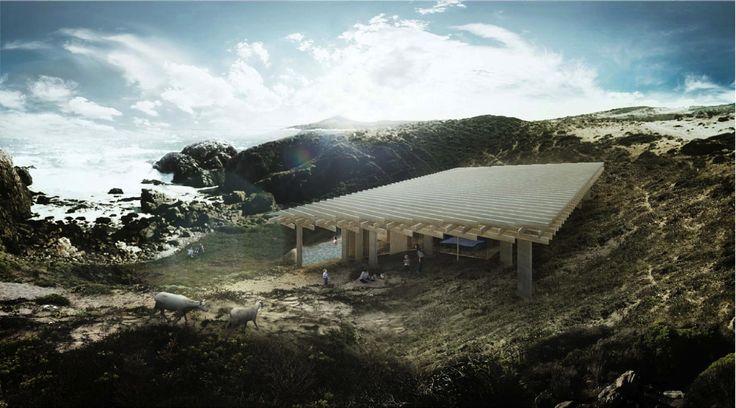 Arquitectos chilenos y japoneses trabajan en conjunto para la próxima etapa de Ochoalcubo