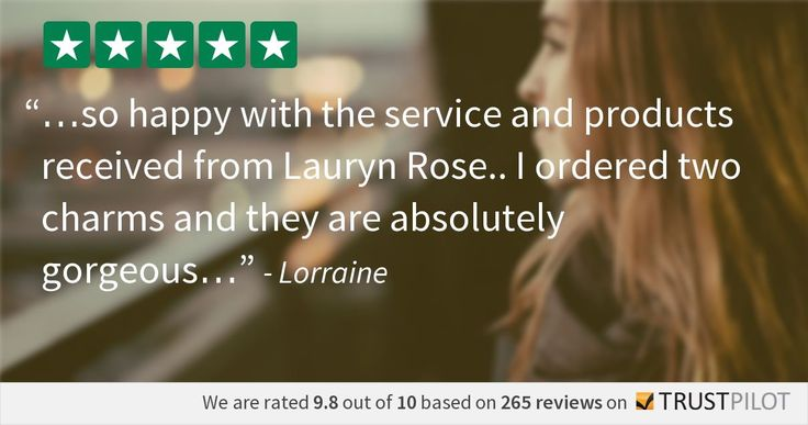 We put our Customers first and try our best to always provide a 5 Star service. See more at www.LaurynRose.com ❤️❤️❤️ #LaurynRose #Jewellery #Gift #customerservice