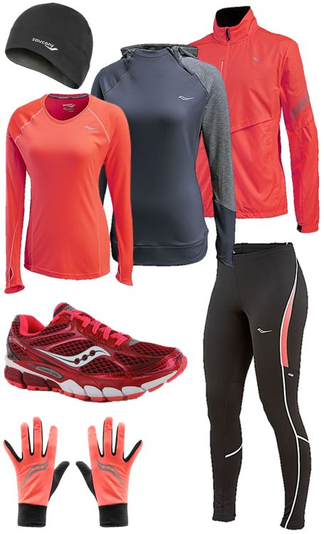 #Winter #Running Ladies winter running clothes #Saucony…