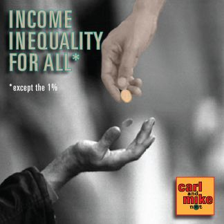 On Income Inequality for All*, Mike is on his soapbox about employees turned into contractors, the growing wage and benefit gap within corporations, appeasing shareholders at the expense of employees and other sins of the 1%. #inequality #money