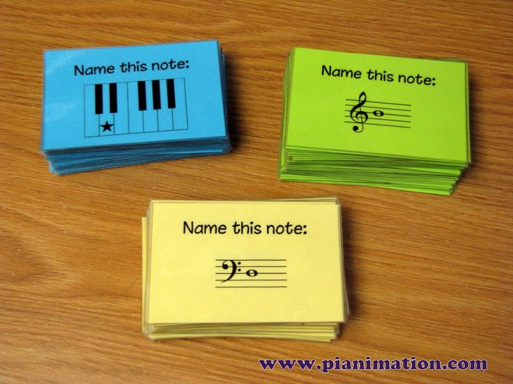 This site has tons of great games for teaching kids music theory! Free printable a too!