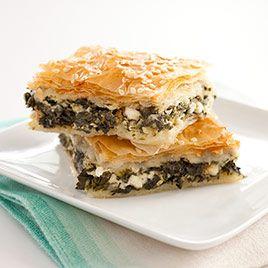 greek spinach and Feta pie