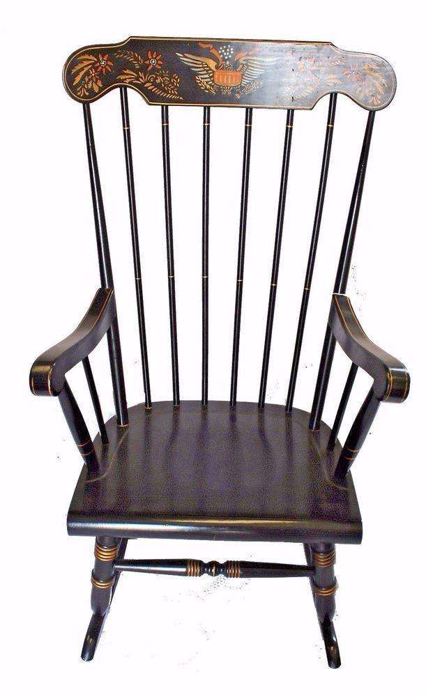 Hitchcock Rocking Chair Ebay Hitchcock Rocking Chairs Rocking Chair Chair Homelife
