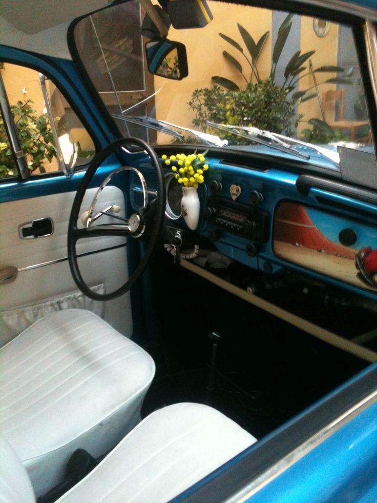 Old Volkswagen Beetle Interior