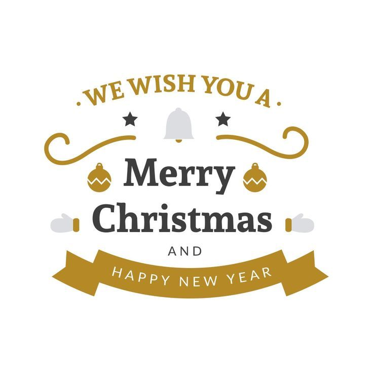 We Wish You A Merry Christmas And Happy New Year Graphics Svg Png Pdf Vector Cli Merry Christmas And Happy New Year Happy New Year Cards Happy New Year Images
