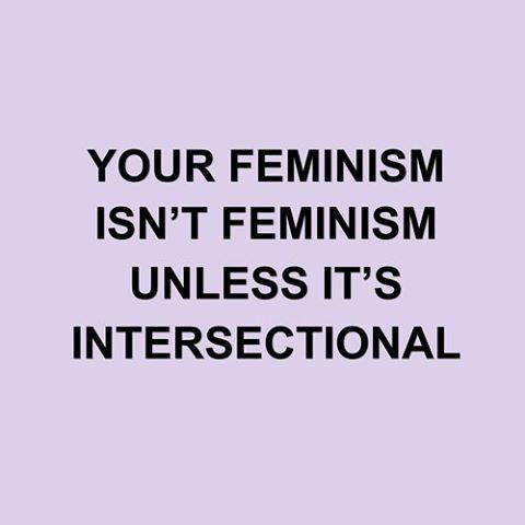 @frecklefahce // 'modern life is rubbish' // white feminism ISN'T feminism