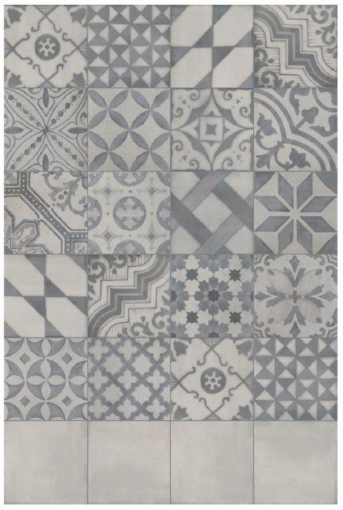 Charming 1920 Grey Tiles/ Modern Tiles With Antique Look/ Grindu Plytees/ Sendintos  Plyteles Grindims