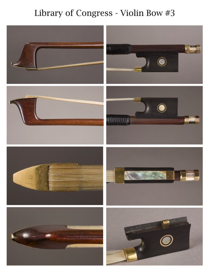 Tourte violin bow